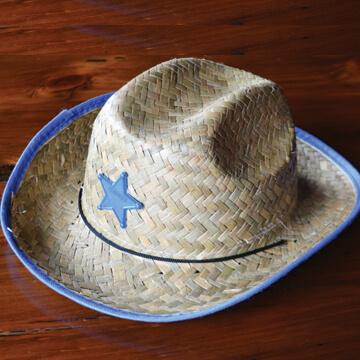 Kids' Blue Cowboy Hat - 4.99