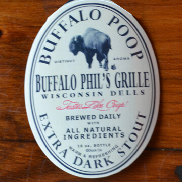 Buffalo Poop Magnet - 4.99